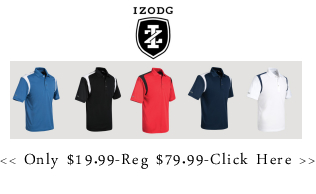 Izod Golf Shirts - Only $19.99